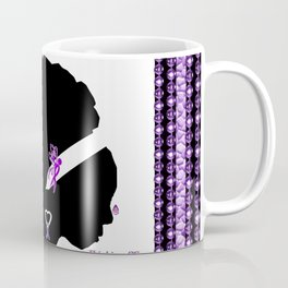 Power Purple For a Cure - Thinking Of You Coffee Mug