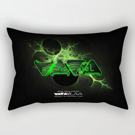 """VACA - MP: """"A Incrível Vaca"""" Rectangular Pillow"""