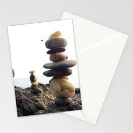 Rock Balancing Stationery Cards