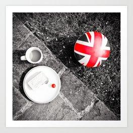 British Sunday | Still Life 88A Art Print