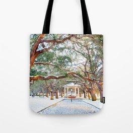 Snow White Point Gardens Tote Bag