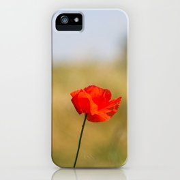 Poppy n.2 iPhone Case