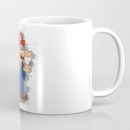 Street Fighter Mario Coffee Mug