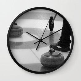 Skip In The House Wall Clock