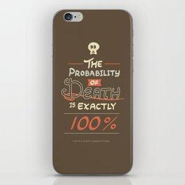 Morbid Reality #01 iPhone Skin