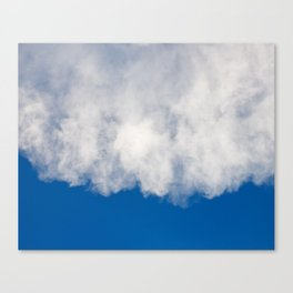 Cotton candy in blue Canvas Print