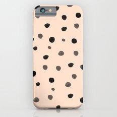 Peach Dots iPhone 6s Slim Case