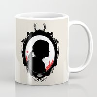ellie goulding Mugs featuring Ellie by Duke Dastardly