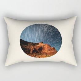 Long Exposure Of Spinning Stars Rectangular Pillow