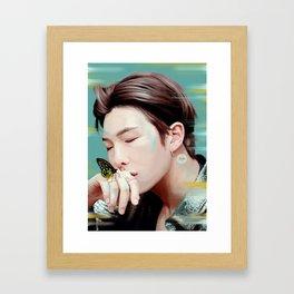 RM - Butterfly Framed Art Print