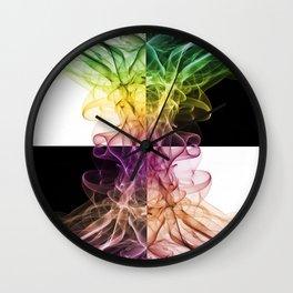 Smoke Art 48 Wall Clock