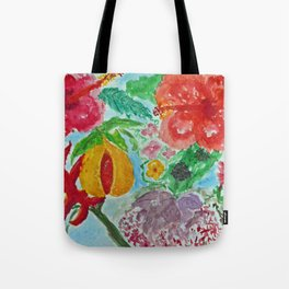 Tropical Bed Tote Bag