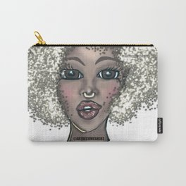 Ice Queen- The Silver Lady Carry-All Pouch