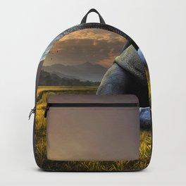 Rhinoceros Crying Backpack