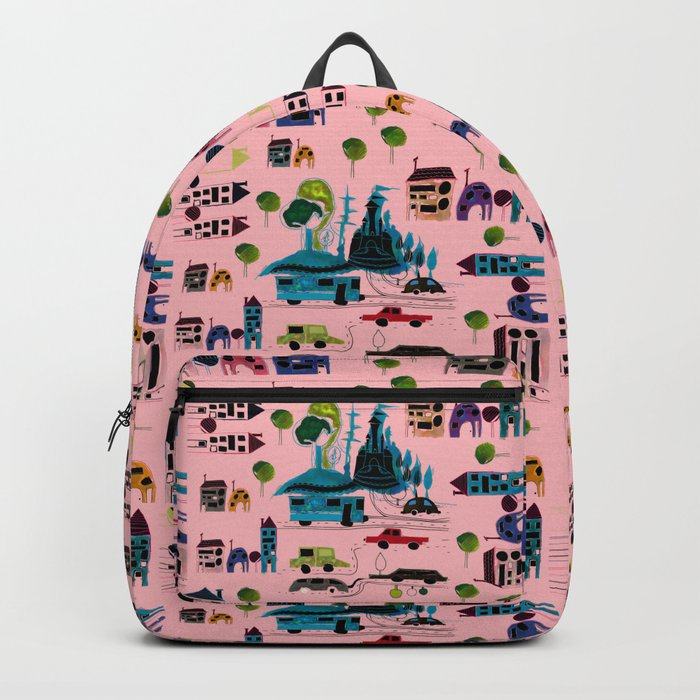 CityView pink Backpack