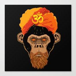 Stoned Monkey Canvas Print