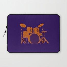 Vintage Drummer Drums Distressed Laptop Sleeve