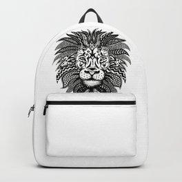 Lion Zentangle Backpack
