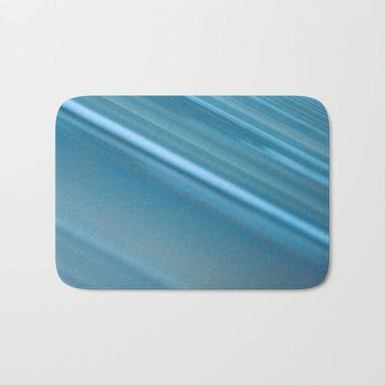 LINES OF BLUE #1 #decor #art #society6 Bath Mat