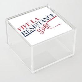 Vive La Résistance, y'all! Acrylic Box