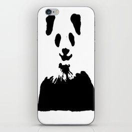 Pandas Blend into White Backgrounds iPhone Skin