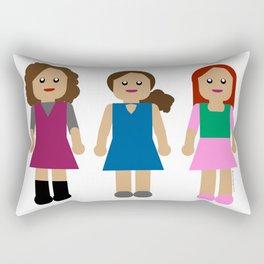 The LLL Girls Rectangular Pillow