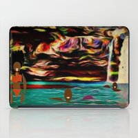 postcard iPad Cases featuring Postcard by Holly Williams