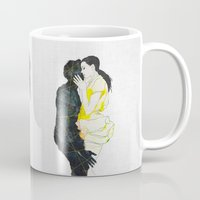 kiss Mugs featuring KISS by SEVENTRAPS