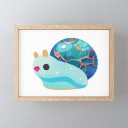 Jewel Snail Framed Mini Art Print