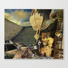 Strap Nap Beamix Canvas Print