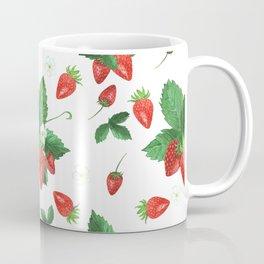 Strawberry Neck Gator Strawberry Blossoms Strawberries Coffee Mug
