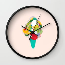 Dreaming of Icecream Wall Clock