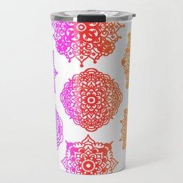 Zentangle Flow #2 Travel Mug