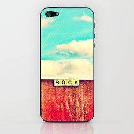 ROCK - Scrabble 2 iPhone Skin