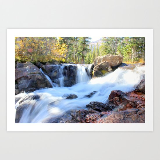 Autumn's Peacefulness Art Print