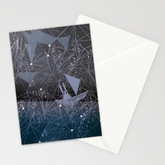 sailing through space Stationery Cards