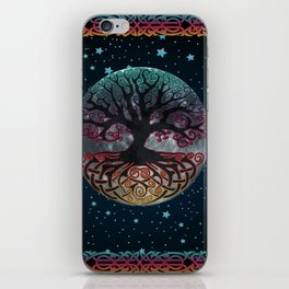 Autumn Esoteric Triple Moon V2 iPhone Skin