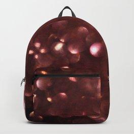 Dark Pink Sparkles Backpack