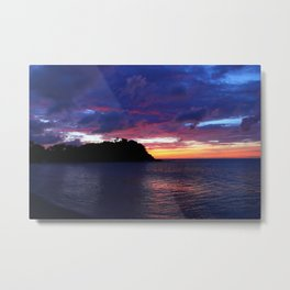 sunset friars bay Metal Print