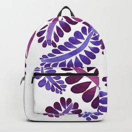 Pink leaves painting Backpack