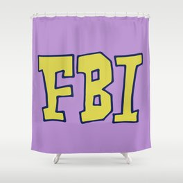 FBI Shower Curtain