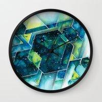 apollo Wall Clocks featuring :: Apollo :: by Antonio Holguin