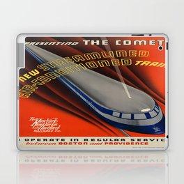 Vintage poster - The Comet Laptop & iPad Skin