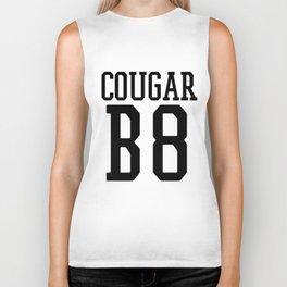 Cougar B8 (Bait) Funny Team Jersey On the Prowl Black Biker Tank