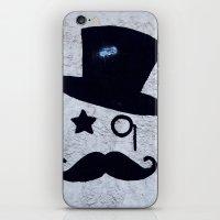 gentleman iPhone & iPod Skins featuring Gentleman by Lara Fotografica