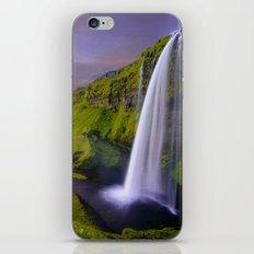 Seljalandsfoss Waterfall, Iceland iPhone & iPod Skin