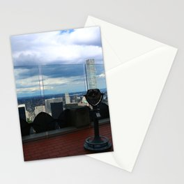 Top of the Rock View over Manhattan Stationery Cards
