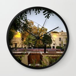 Maida Vale at Sunset. Little Venice. London Wall Clock