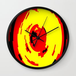 Pixel Man Wall Clock