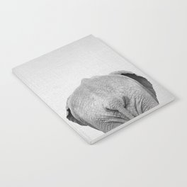 Elephant Tail - Black & White Notebook